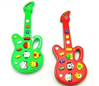 Wholesale Novel Electric Guitar Music Toys Music Instrument Guitar Baby Electronic Guitar Toys With Kid s S