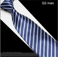 Wholesale Factory men s ties striped necktie men neck tie cravat neckwear designs