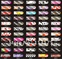 Wholesale NEW Brilliance Shiny Self Adhesive Minx Style Nail Sticker NEW Nail Foil Nail Patch Ar