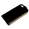 For iPhone 5 Flip Case Leather Case Pouch for Apple Iphone 5 5G DHL Free ship mix color hot sell