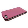 For iphone5g leather Luxury Magnetic Flip Leather Skin Cover Case For iPhone 5 DHL ship mix color