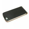 For iphone 5 Carbon Fiber Flip Leather Case Pouch for Apple iPhone 5 5g DHL ree ship mix color