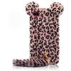 Leopard with Hairy Tail Silicone Case Cover TPU Cases for iPhone 5 5G,DHL shipping 30pcs lot