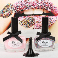 Wholesale 2015 New Sexy Fashion Women Brand New quot CATE Ciate Caviar Nail Polish Exclusive Manicure Rainbow Color Limited Edition HB978R F