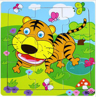 Wholesale 9 pieces of wooden jigsaw puzzle children s educational toys jigsaw puzzle g
