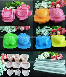 Wholesale Egg Sushi Rice Mould Cutter Bento Crafts Maker Box Fondant Kitchen Mold