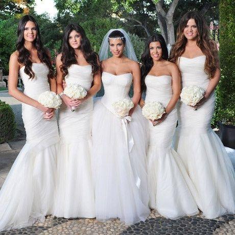 Kim Kardashian Fairytale Wedding Dress Sexy Tulle Ball Gown ...