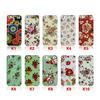 Flower Rubberized Hard Case Snap On Cover for Apple iPhone 5 5 g,DHL shipping 50pcs lot