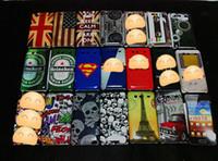 Plastic beer uk - UK USA Flag Hard Case for Samsung i9070 Galaxy S Advance mix Heineken Beer tape cassette designs