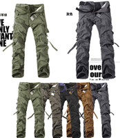 Wholesale CHRISTMAS NEW MENS CASUAL MILITARY ARMY CARGO CAMO COMBAT WORK PANTS TROUSERS SIZE