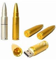 Wholesale Promotional Genuine GB GB GB Metal Bullet Shape USB Memory Stick Flash Drive