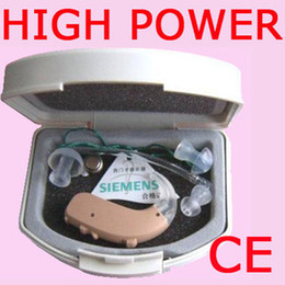 Wholesale DHL shipping arrive in days Brand New SIEMENS High Power LOTUS P Digital BTE Hearing Aid For Severe Profound Loss