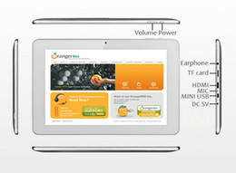 Wholesale 2pcs Sanei N10 RK3066 Dual Core quot IPS Android Tablet PC GB Points Touch Dual Camera