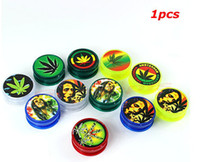 Wholesale BOB MARLEY amp LEAF RASTA Herbal Herb Tobacco Grinder Smoke Crusher hand Muller