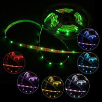 led ribbon lights - Hot Promotion free ship M SMD RGB Non Waterproof LED Strip Lights LED m leds m DC V flexible LED Strips ribbon light