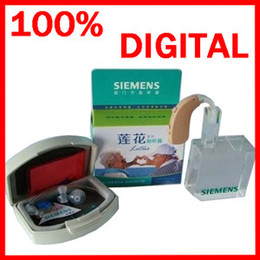 Wholesale Ship by DHL Brand New SIEMENS High Power LOTUS P Digital BTE Hearing Aids For Severe Profound Loss