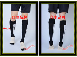 Wholesale Tiebao Elite Socks Men Football Socks Black White Soccer Sock Sox Hosiery Sport Hose Stockings