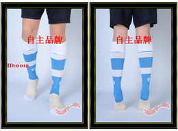 Wholesale Hot Sell Men Football Socks Baby Blue White Elite Socks Soccer Sock Sox Hosiery Sport Hose Stockings