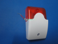 alarm boxes flashing - Alarm Bell Box new wired siren with red LED flash for home Wireless alarm system S164