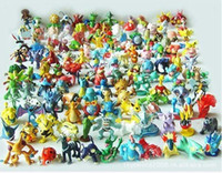 New Year   Whole sale Lots 144pcs Action Figures 2-3cm Diamond Toys Action figure pocket monster