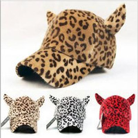 Wholesale lady s basin hat fashion leisure leopard caps winter female cap dance women s caps