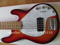 Wholesale active system bass sunburst bass string bass guitar chinese high quality bassfor cheap price