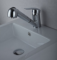 beauty bathrooms - Beauty chrome pull out bathroom basin stream Faucet Mixer Tap Sink bar fg105