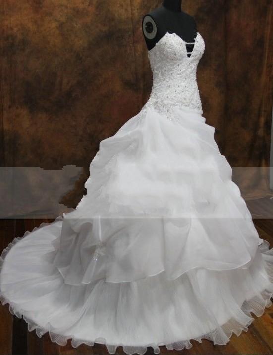 Ball gown sexy open bra appliue beaded corset organza for Wedding dress corset bra