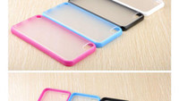 Wholesale 250pcs Matte Hard amp TPU Bumper Case Cover for iPod Touch th