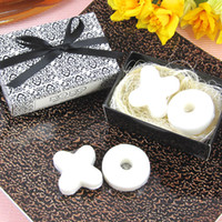 Wholesale XO In The Nest Soap Wedding Baby Shower Favor Set of for Wedding Gifts Party Favors Supplies