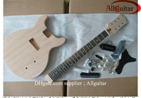 gibson - Maple body unfinished electric guitar body with all parts HOT SALE
