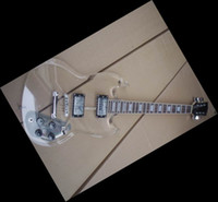 Solid Body 6 Strings Plexiglass Free Shiping Transparent sg electric guitar g400 By Plexiglass 100411
