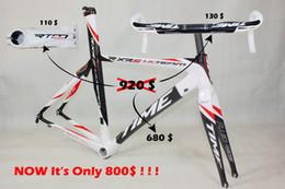Wholesale discount time bicycle frame T1000 carbon road bike Time RXRS Ulteam carbon road frame bb30 frames bar stem carbon fiber bike