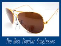 Wholesale 14pcs Men s Sunglasses Glod Metal Frame mm Glass Lens