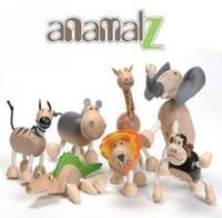 Wholesale Baby Anamalz Zoo Characters Animal Toy Doll Maple Safe Kids Educational Toy Handmade Toys