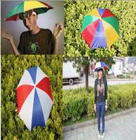 Wholesale Umbrella Hat Shade Party Gardening Costume Rain NEW