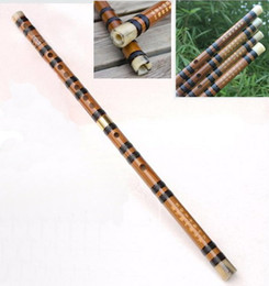 Chinese Bamboo Flutes Keys in C, D, E, F, G with a Soft Case