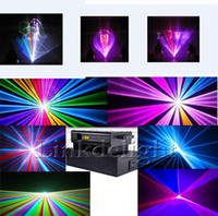Auto strobe animation laser - Hot Professional W RGB laser Kpps ILDA Animation laser DJ Lighting nm red laser show system