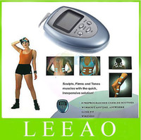 Wholesale Lowest Price FREE FEDEX Burn Fat GYM Muscle Massager Slimming Machine Electronic Pulse Body Massager