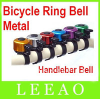 Cheap Lowest Price 200pcs lot # Mini Metal Ring Handlebar Bell Sound for Bike Bicycle Free DHL shipping