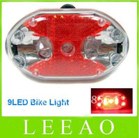 best rear cycle lights - Lowest Price Best LED Cycling Bike Bicycle Red Warning Tail Front Rear Light Lamp LED Lights