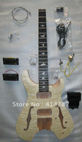Wholesale high quality wood electric guitar kits