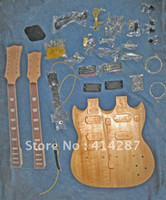 Cheap other double neck Best other Mahogany guitar kits