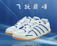 Wholesale New table tennis shoes white sapphire blue professional