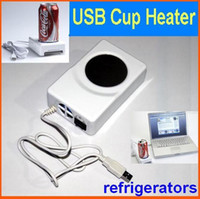 Wholesale USB Cup Warmer Heater Coolest Mug Drink Coffee Cooler refrigerators and Computer USB Gadgets
