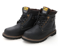 Wholesale New hot sale men Outdoor Fashion the trend leisure work boots Martin boots