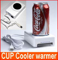 Wholesale USB Cup Mug Drink Coffee Cooler and Warmer Heater Coolest Computer USB Gadgets