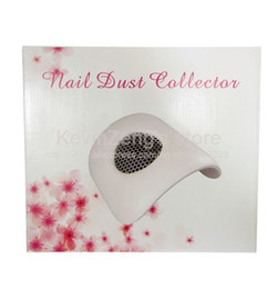 Wholesale Freeshipping Mini Size Nail Art Dust Suction Collector Vacuum Cleaner with Hand Rest Design