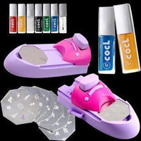 Wholesale Promotional DIY nail stamping printing machine polish nail printer Best selling