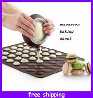silicone baking mat - Macaron Special Silicone Baking Mat Muffin Dessert Bakeware Mat cm